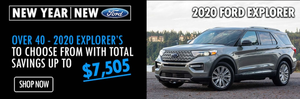 New Year New Ride in a 2020 Ford Explorer