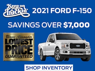 Your New 2021 Ford F-150 Is Ready at Blaise Alexander Ford in Lewisburg, PA