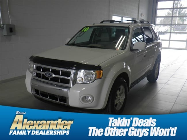 2010 Ford Escape For Sale >> Used 2010 Ford Escape For Sale At Blaise Alexander Kia Vin