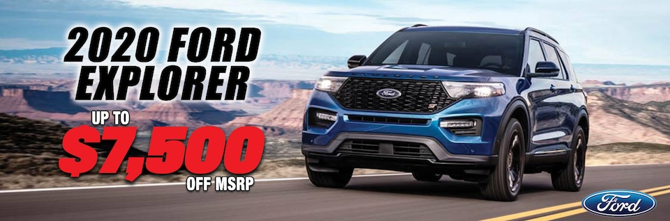 New Year New Explorer at Blaise Alexander Ford of Mansfield