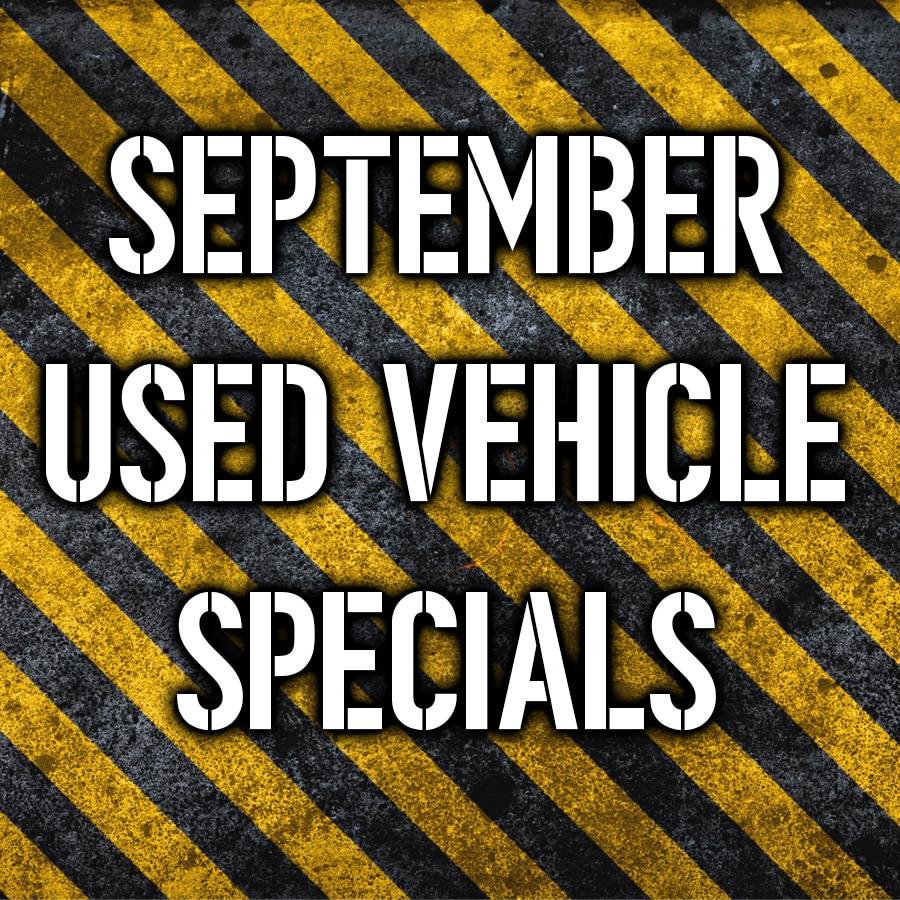 Pardon Our Dust Used Vehicle Specials