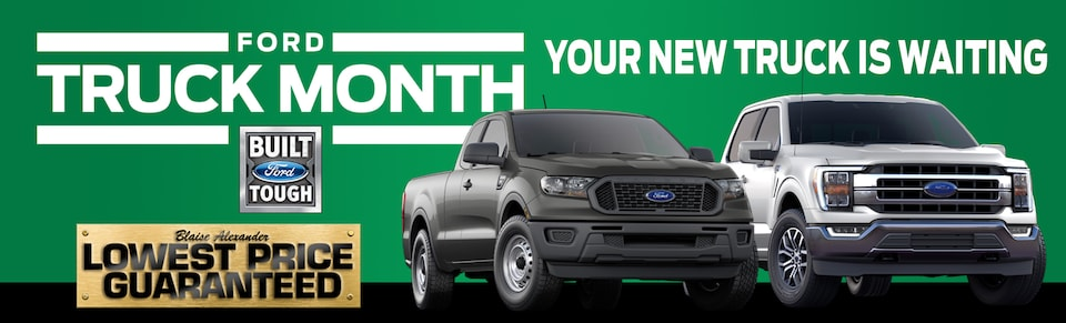 Save On Your New Ford Truck During Truck Month