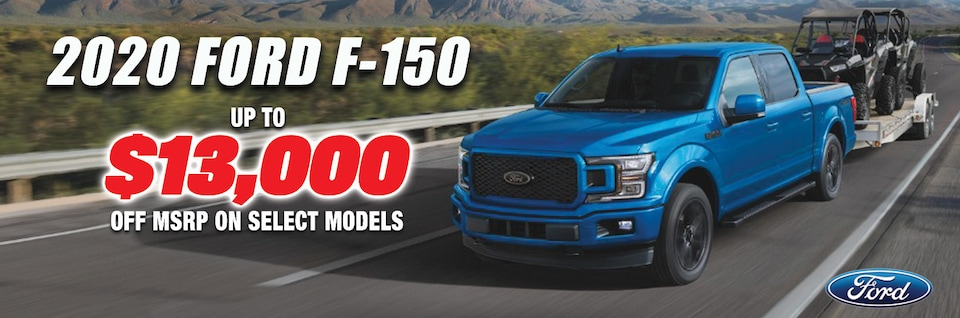 New Year New F-150 at Blaise Alexander Ford of Mansfield