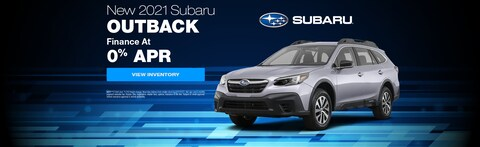 Finance a new 2021 Subaru Outback as low as 0%
