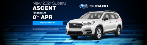 Finance as low as 0% APR on a New 2021 Subaru Ascent