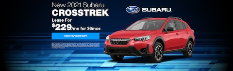 Lease a New 2021 Subaru Crosstrek as low as $229/month for 36 months
