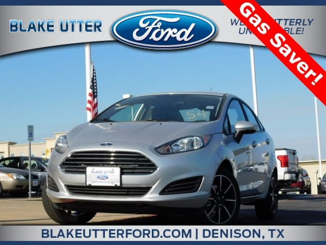 New 2019 Ford Fiesta SE Sedan For Sale/Lease Sherman TX