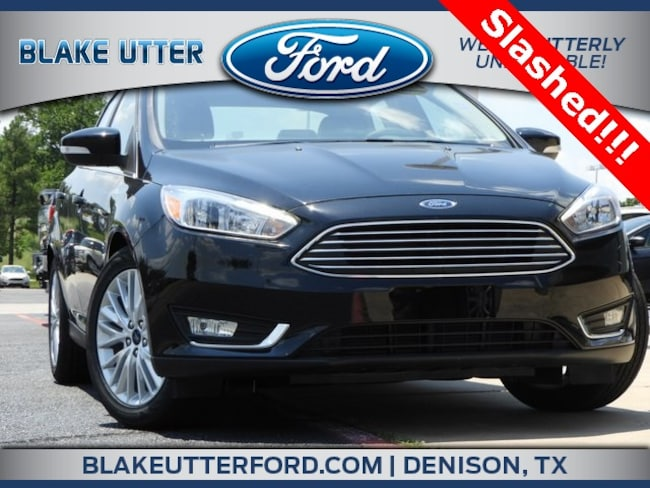 New 2018 Ford Focus Titanium Sedan For Sale/Lease Denison, TX