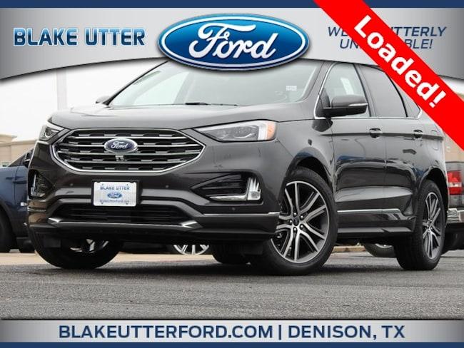 New 2019 Ford Edge Titanium SUV For Sale/Lease Sherman TX