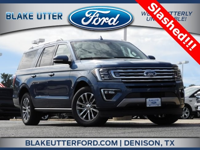 New 2018 Ford Expedition Max Limited SUV For Sale/Lease Denison, TX