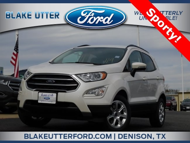 New 2018 Ford EcoSport SE SUV For Sale/Lease Denison, TX