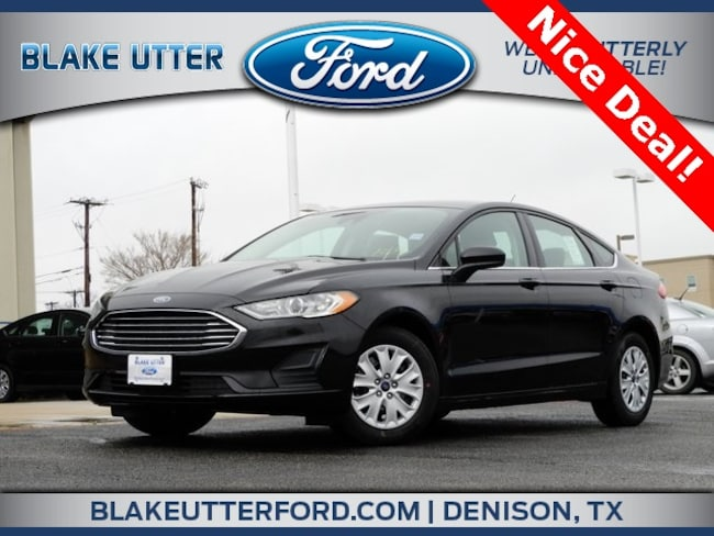 New 2019 Ford Fusion S Sedan For Sale/Lease Denison, TX