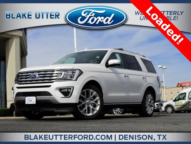 New 2019 Ford Expedition Limited SUV For Sale/Lease Sherman TX