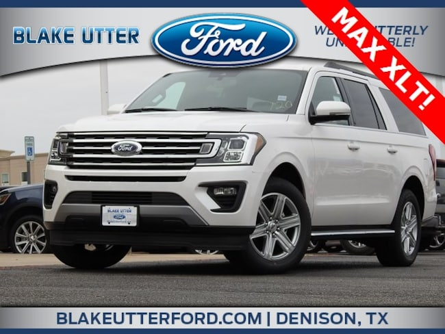 New 2019 Ford Expedition Max XLT SUV For Sale/Lease Denison, TX