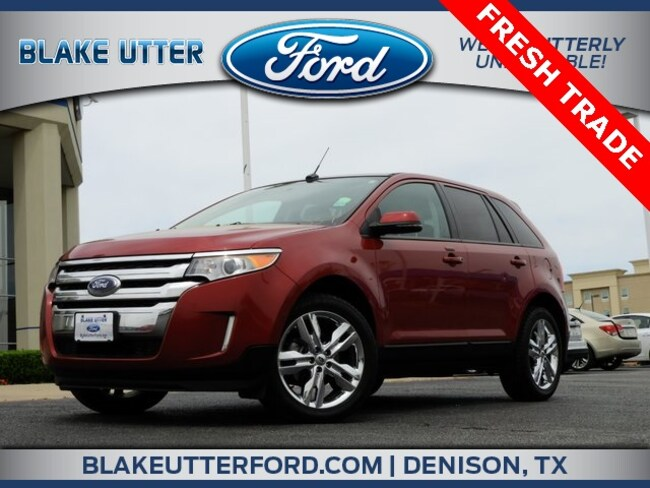 Used 2013 Ford Edge SEL SUV For Sale Denison, TX