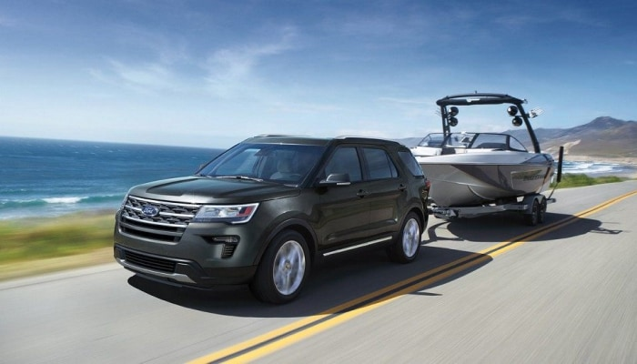 The high-performance 2019 Ford Explorer