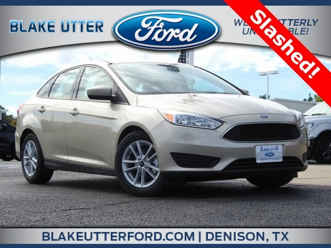New 2018 Ford Focus SE Sedan For Sale/Lease Denison, TX
