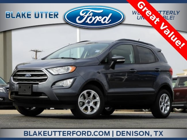 New 2019 Ford EcoSport SE SUV For Sale/Lease Denison, TX