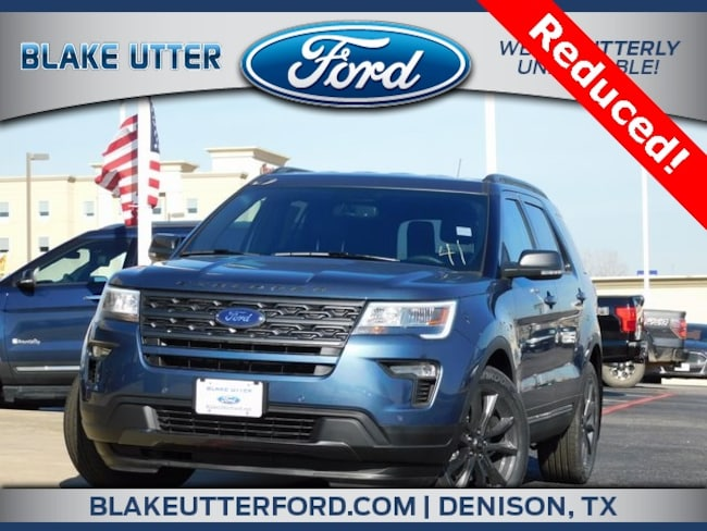 New 2019 Ford Explorer XLT SUV For Sale/Lease Denison, TX