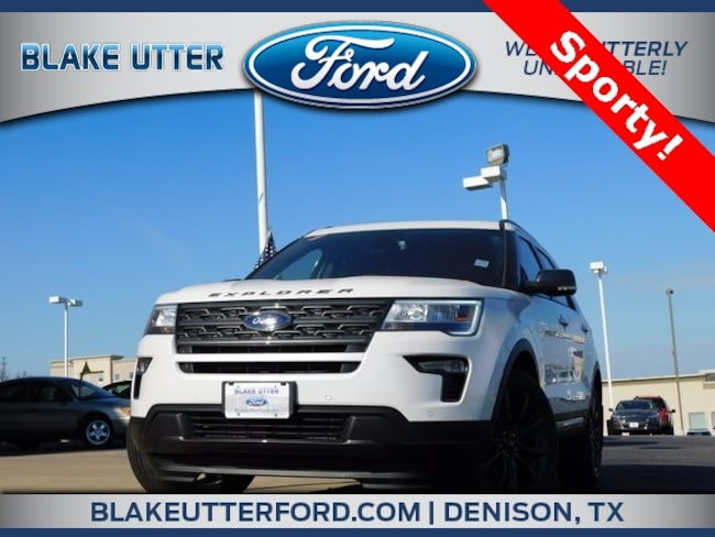New 2019 Ford Explorer XLT SUV For Sale/Lease Denison, TX