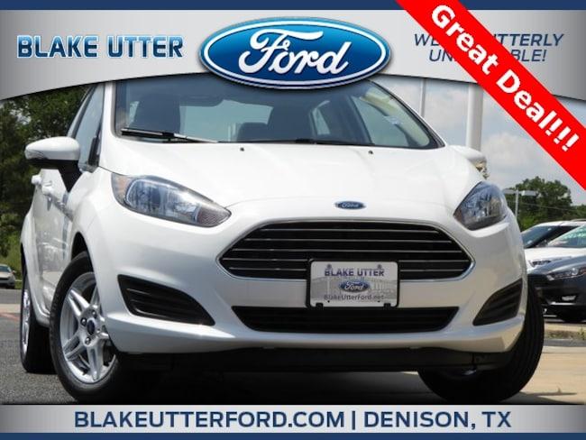 New 2018 Ford Fiesta SE Sedan For Sale/Lease Denison, TX