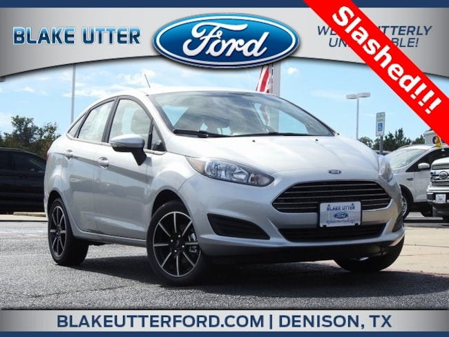 New 2018 Ford Fiesta SE Sedan For Sale/Lease Denison, TX