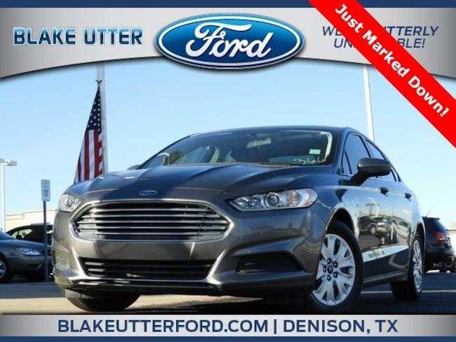 Used 2014 Ford Fusion S Sedan For Sale Denison, TX