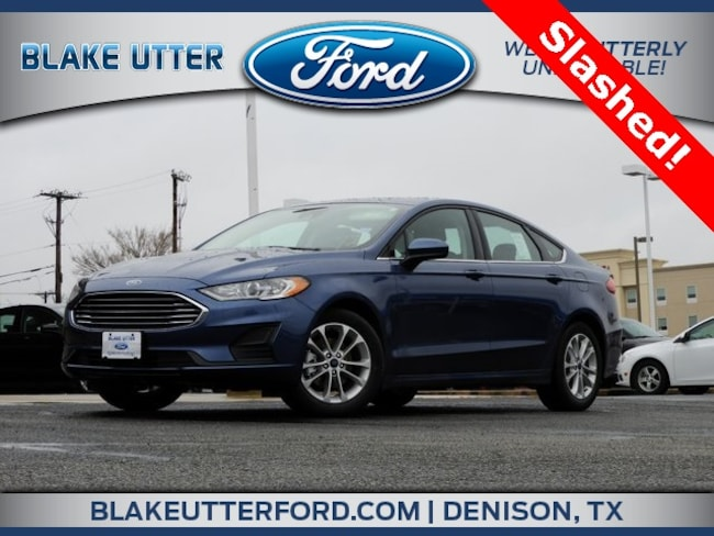 New 2019 Ford Fusion SE Sedan For Sale/Lease Denison, TX