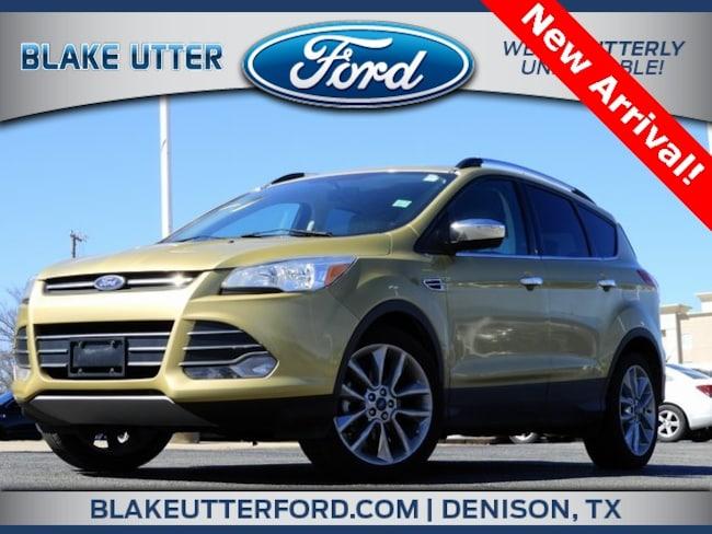 Used 2014 Ford Escape SE SUV For Sale Denison, TX