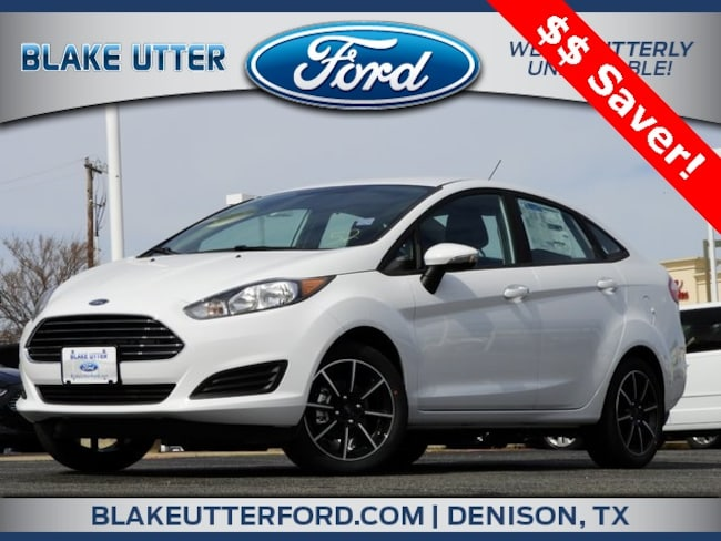 New 2019 Ford Fiesta SE Sedan For Sale/Lease Denison, TX