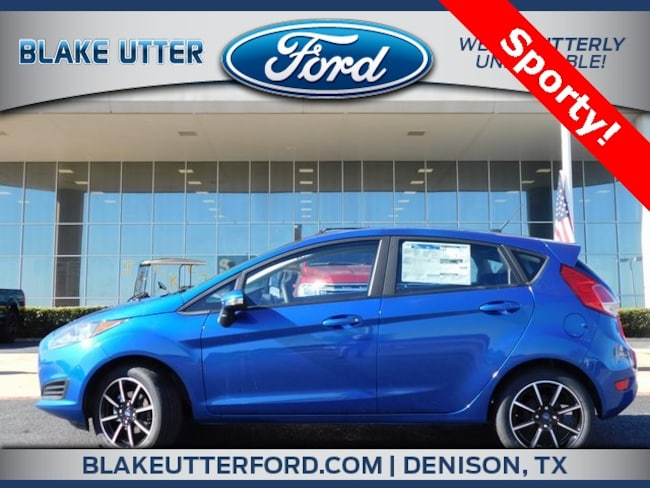 New 2019 Ford Fiesta SE Hatchback For Sale/Lease Denison, TX
