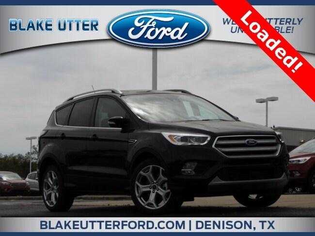 New 2018 Ford Escape Titanium SUV For Sale/Lease Denison, TX