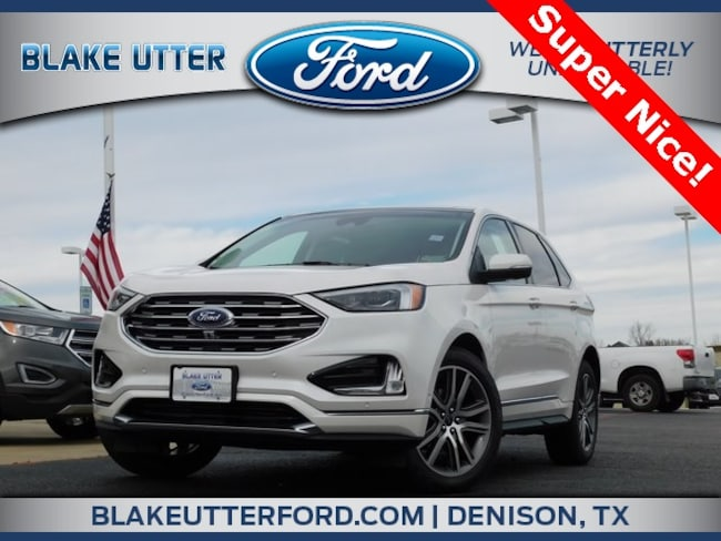 New 2019 Ford Edge Titanium SUV For Sale/Lease Sherman TX