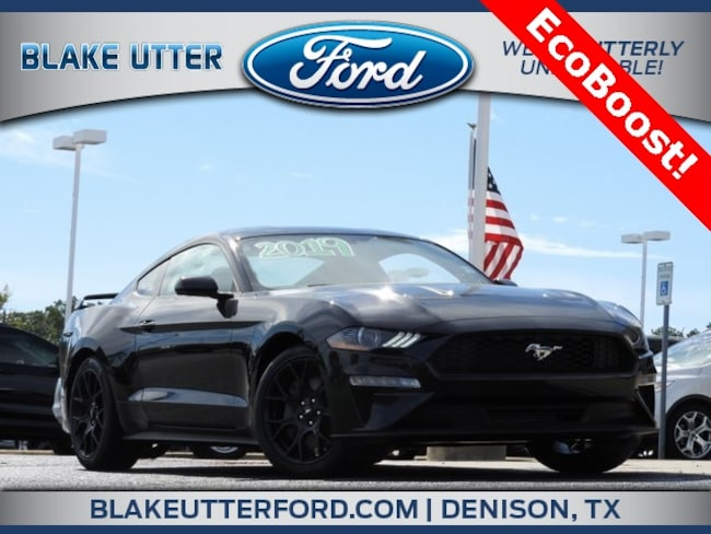 New 2019 Ford Mustang Ecoboost Coupe For Sale/Lease Sherman TX