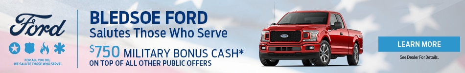 Military and First Responder Bonus Cash