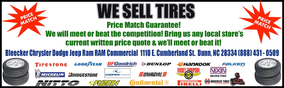 Bleecker Chrysler Dodge Jeep Ram Tire Center