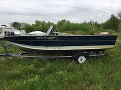 1990 Alumacraft 1700 Boat