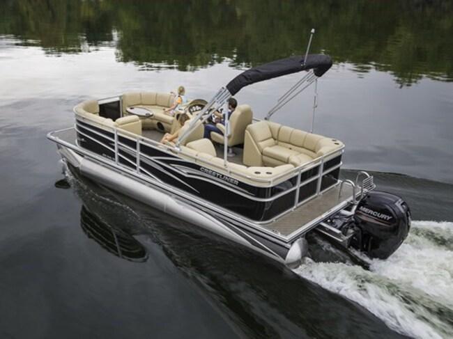2019 Crestliner Rally 220 Pontoon Boat