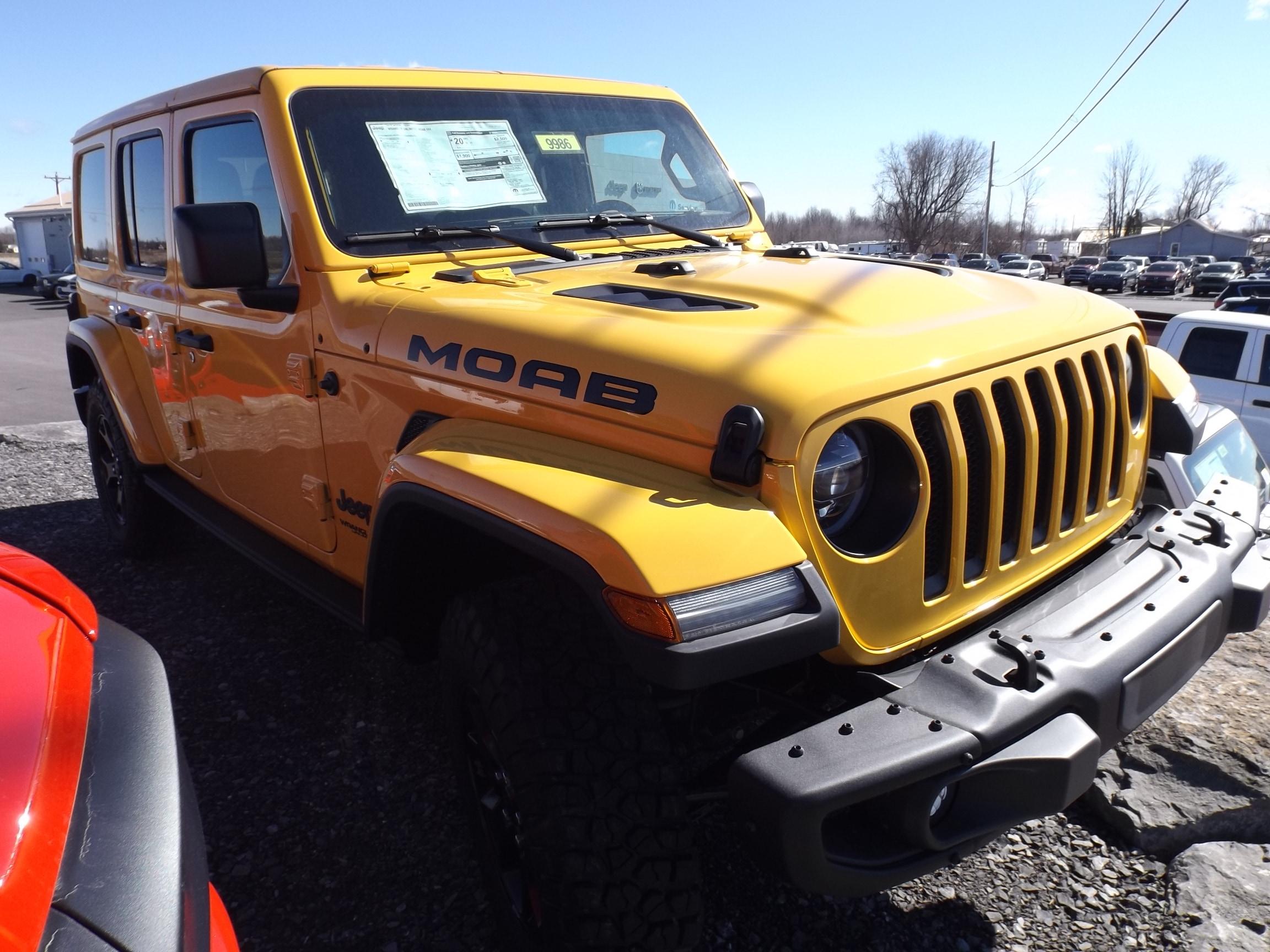 2019 Jeep Wrangler UNLIMITED MOAB 4X4 Sport Utility