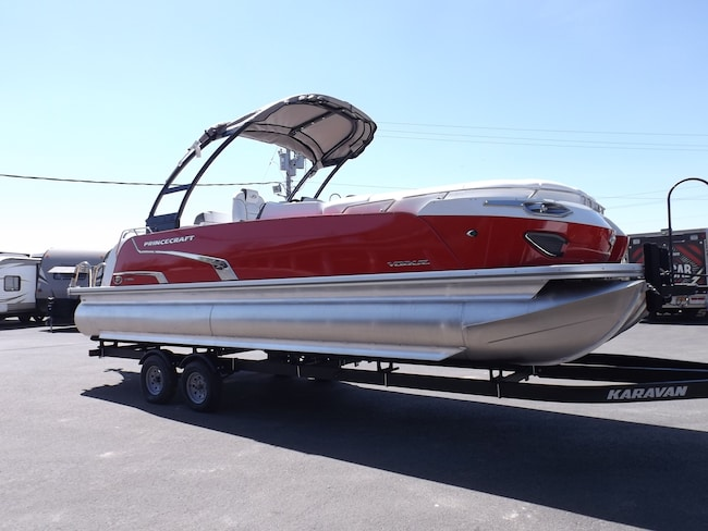 2018 Princecraft Vogue 25XT Pontoon Boat