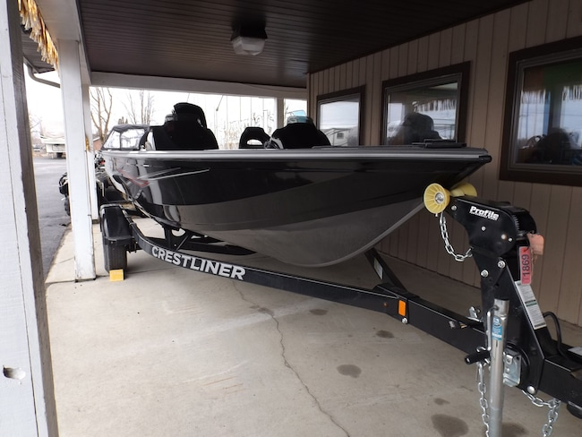 2018 Crestliner 1750 Bass Hawk T1869 Fishing Boat