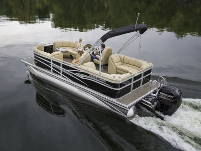 2019 Crestliner Rally 200 Pontoon Boat
