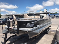 2018 Tahoe GT Center Console Fishing Taupe PONTOON