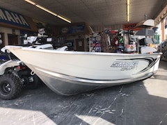 2019 Smoker Craft Alaskan 12TS Aluminum Fishing Boat