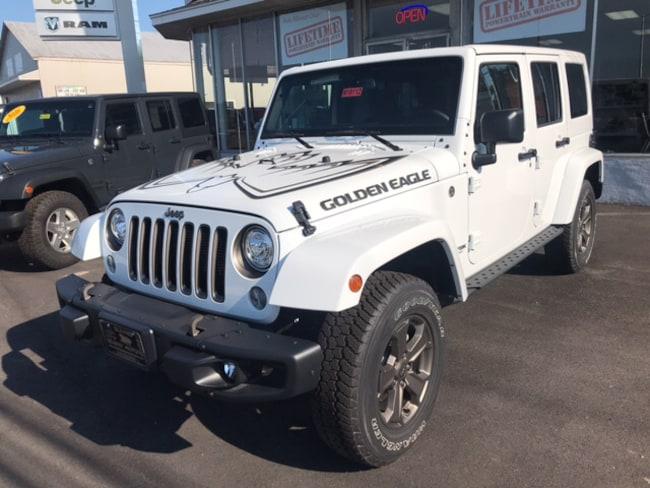 New 2018 Jeep Wrangler JK UNLIMITED GOLDEN EAGLE 4X4 Sport Utility Massena