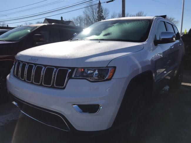 New 2019 Jeep Grand Cherokee LIMITED 4X4 Sport Utility Massena