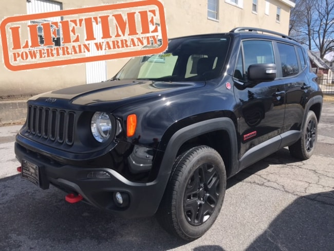 Used 2018 Jeep Renegade Trailhawk SUV Massena