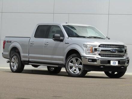 2018 Ford F-150 XLT 302A Crew LB 3.5tbo/A10 4X4 XLT 302A Truck