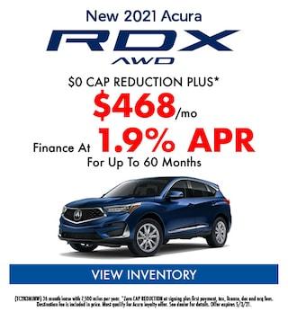 New 2021 Acura RDX AWD