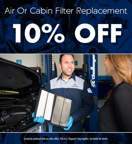 Filter Replacement Special